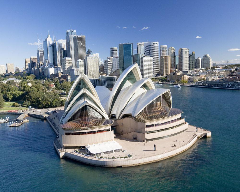 Sydney, vista dall'alto