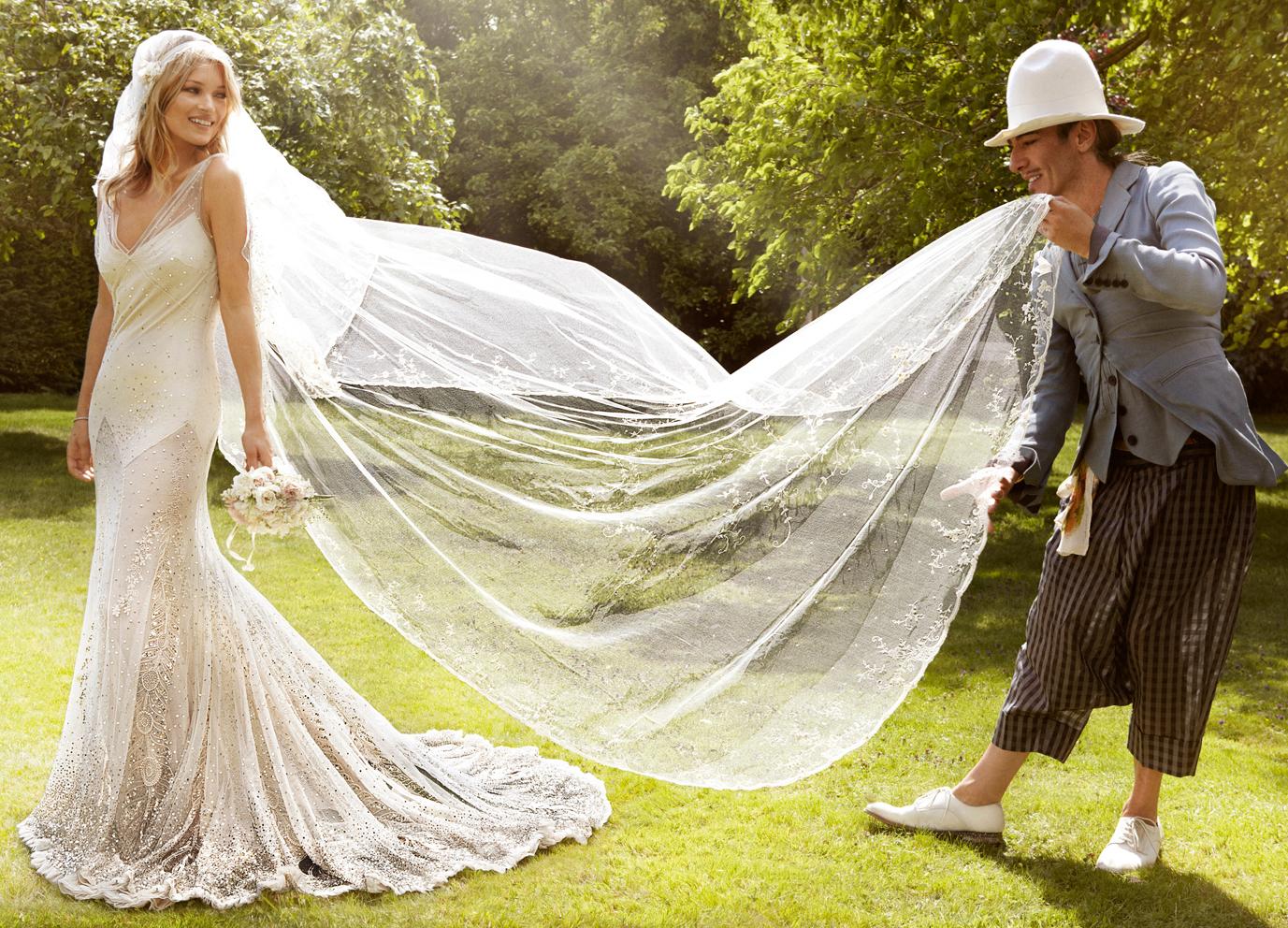 L'abito Boho Chic di Kate Moss