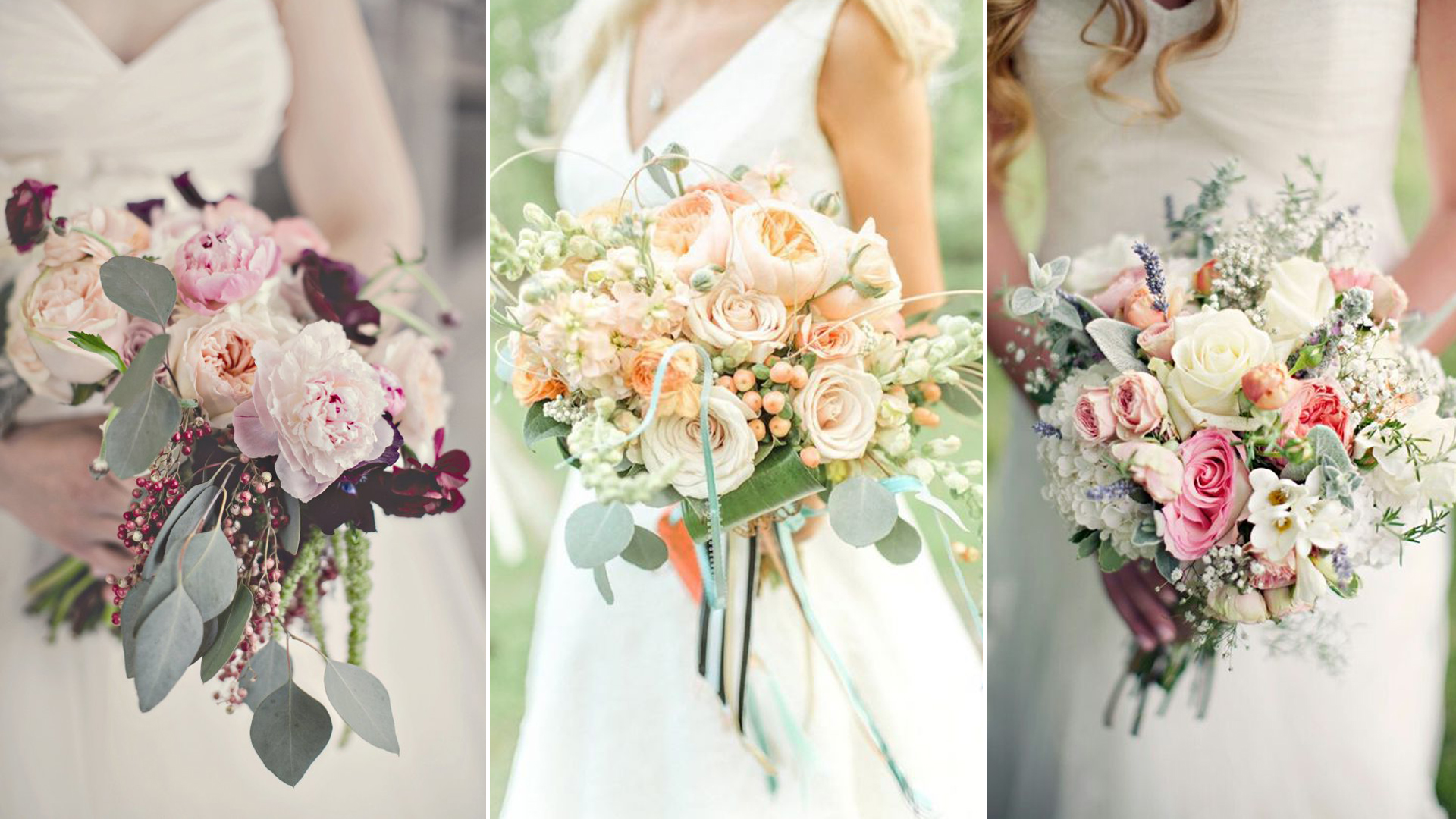 Spose e bouquet