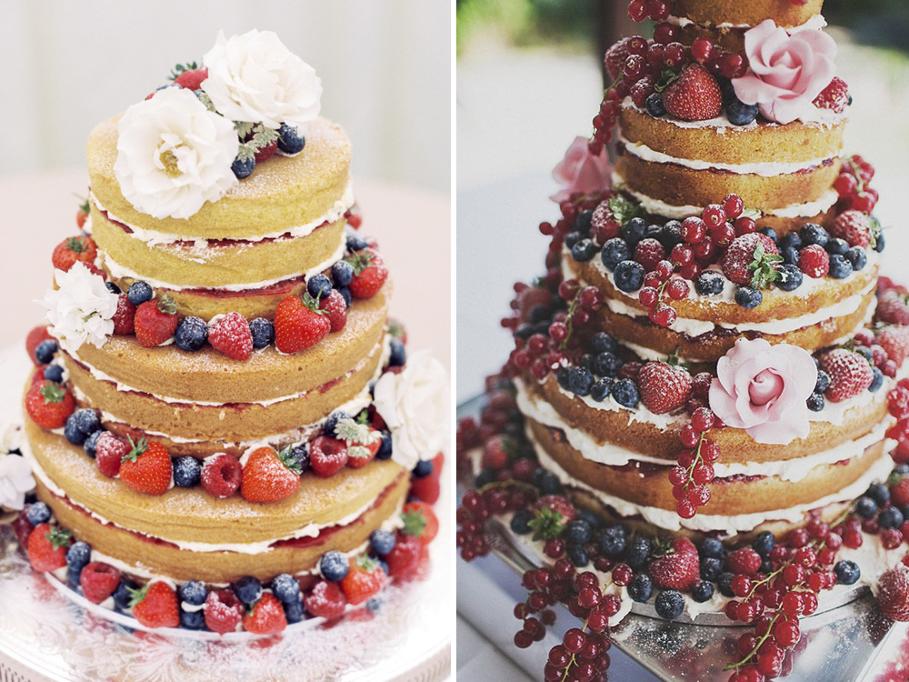 La naked cake
