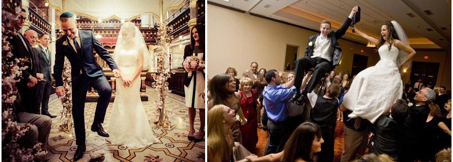 La tradizione ebraica della rottura del bicchiere e della danza degli sposi