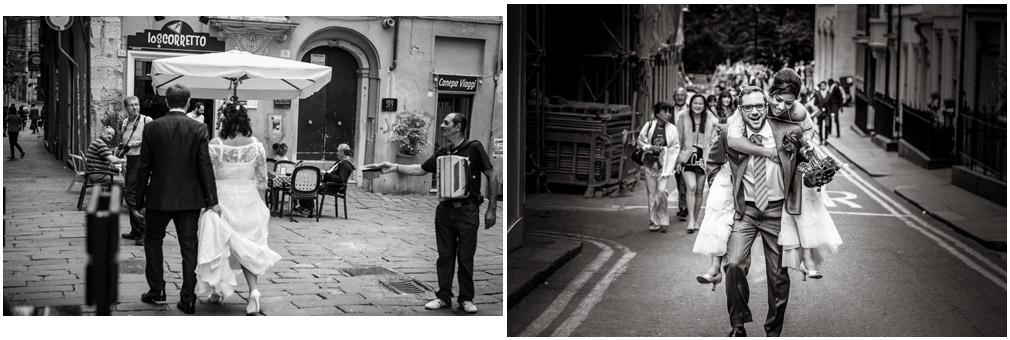 Wedding Street Photography