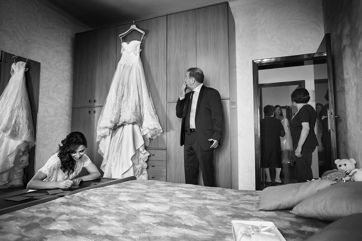 Il wedding reportage