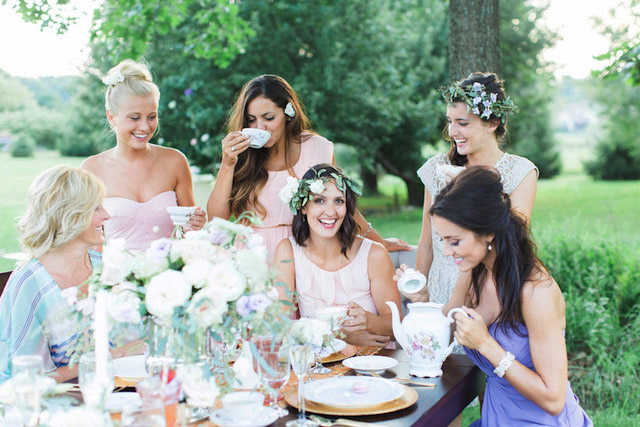 Un rilassante Tea Party