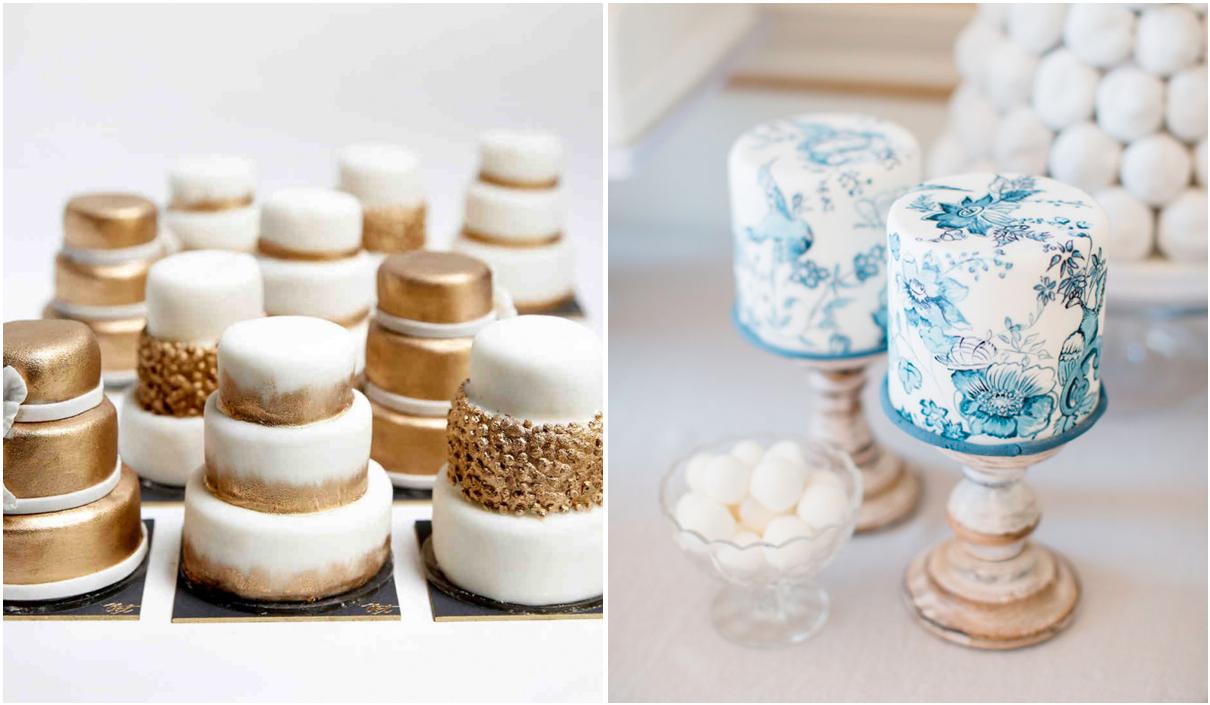 La simpatica mini wedding cake