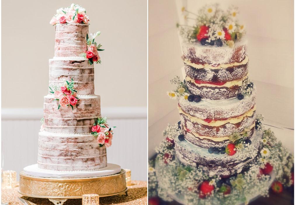 La semplice e bellissima naked cake