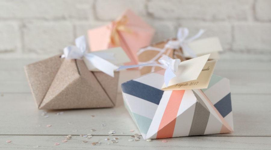Origami porta confetti