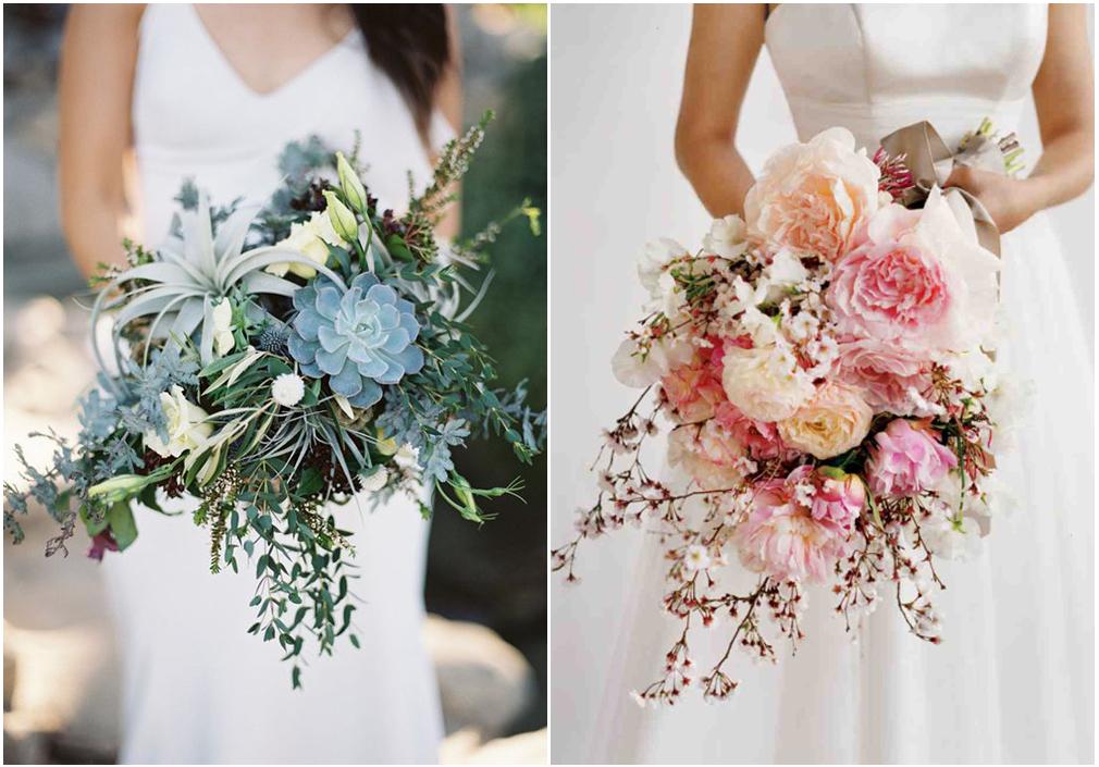 Un mix di natura nel Messy bouquet