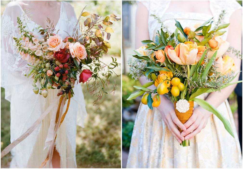 More, fragole, mandarini e molto altro nel bouquet commestibile