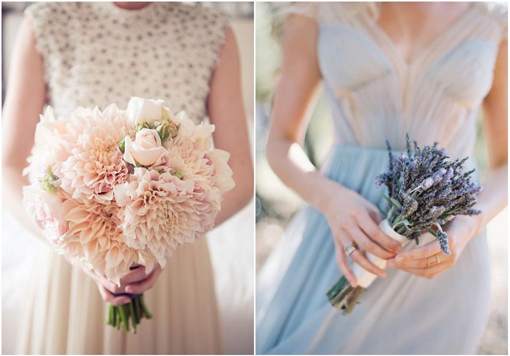 L'unconventional bouquet monocromatico