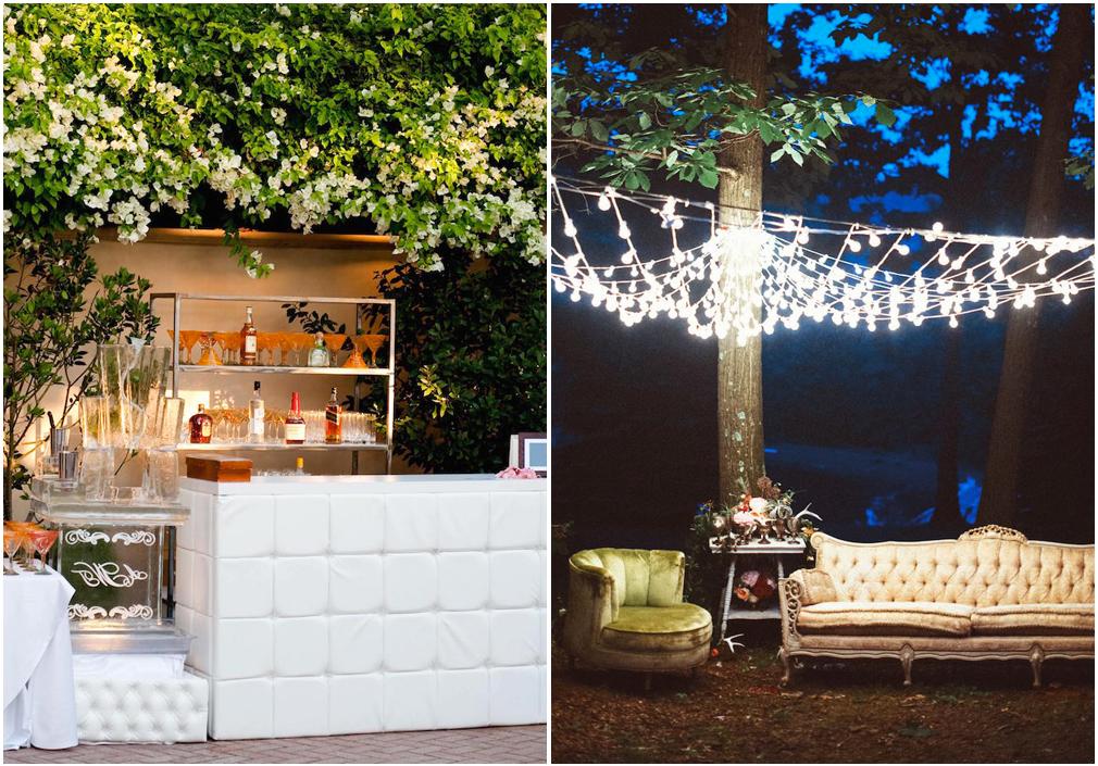 La zona bar e l'illuminazione possono fare la differenza
