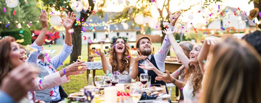 4 idee per intrattenere gli ospiti al ricevimento